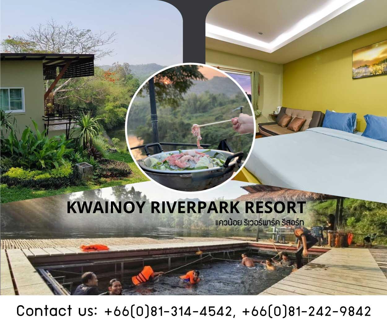 Kwainoy Riverpark Resort Kanchanaburi